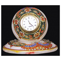 Beautiful Marble Gold Painted Home Decorative Watch