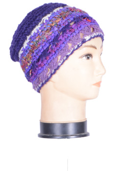 Handmade woolen winter hat , HHWTH 0042-F