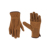 Cow split protective cheap leather working glove double palm