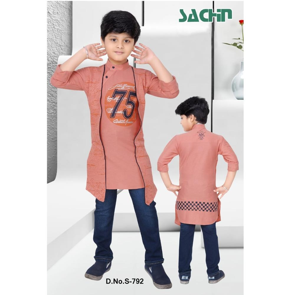 2019 New Fashion Indian Cotton Design Boys Dress Set View New Design Boys Dress Sachin Product Details From United Export Consortioum On Alibaba Com