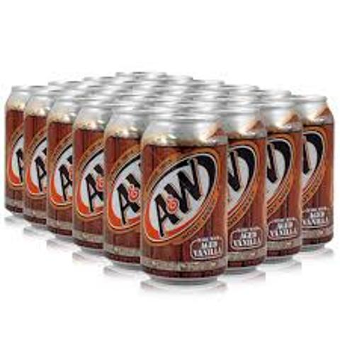 AMERICAN A&W ROOT BEER/CREAM SODA
