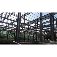 Professional Water Tank Tower Car Parking Shed Roof Design Two Story Steel Structure Warehouse