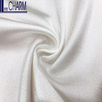 LCL305 Taiwan 100 Polyester Shiny Quality Crepe Back Satin Evening Dress Fabric