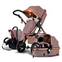 New Wholesales 3 in 1 baby stroller luxury stroller new travel system stroller & car seat