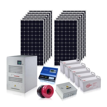 30000w solar system 30kw power off grid solar power system