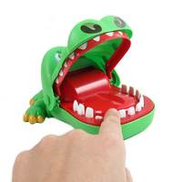 Free Sample Toy Prank Large Crocodile Shark Mouth Dentist Bite Finger Toys Interactive Kids