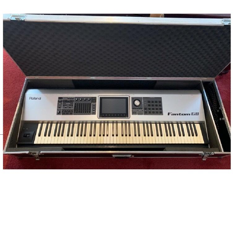 Fantom-S88 Synthesizer Keyboard Mains Cable HQRP 10ft AC Power Cord fits Roland Fantom-XR Fantom X6 X7 X8 Fantom-S V-Synth