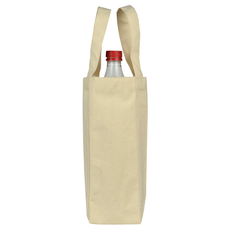Canvas Tote Wine Bottle Bag In Bulk
