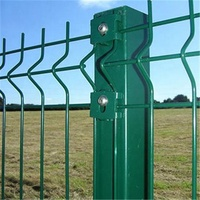 4*4welded wire mesh fence panels/welded wire fence cheap price