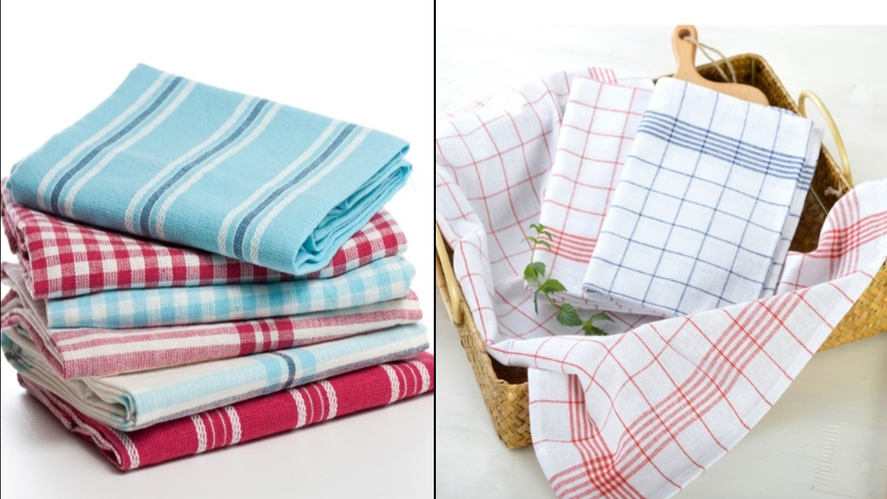 ผ้าห้องครัวผ้าฝ้าย100%