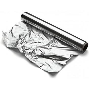 Silver extra heavy duty bbq aluminum foil for food packing roll paper