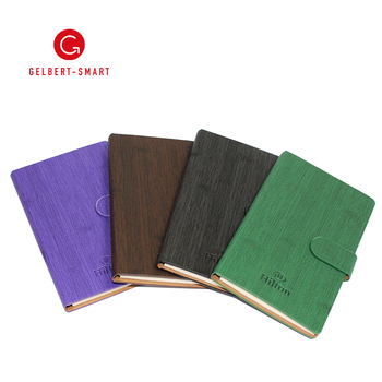 Custom PU Leather Office Desk Stationary Sticky Note Memo Pad Notebook