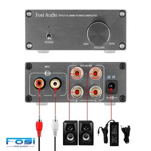 2 Channel Mini Stereo Audio Class D Amplifier 50W x 2 - V1.0G