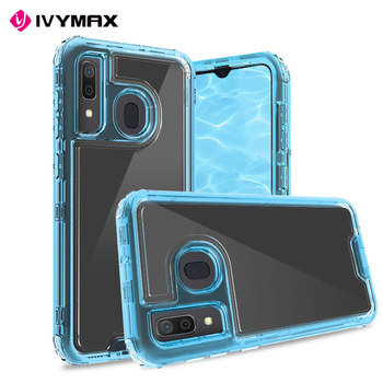 Luxury Clear Anti-drop Case for Samsung Galaxy A20/A30/A50 Cell phone accessories