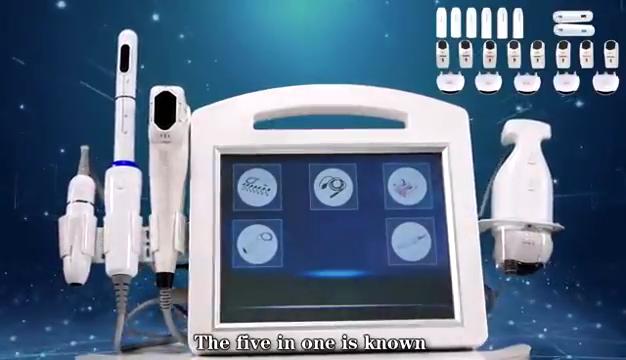 Funzione di personalizzazione 2020 4 in 1 4d 5d hifu vagina di serraggio Anti-Rughe v max hifu face lift macchina portatile