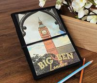 Store Indya Royal Hand Crafted Big Ben Journal Book with Handmade Paper