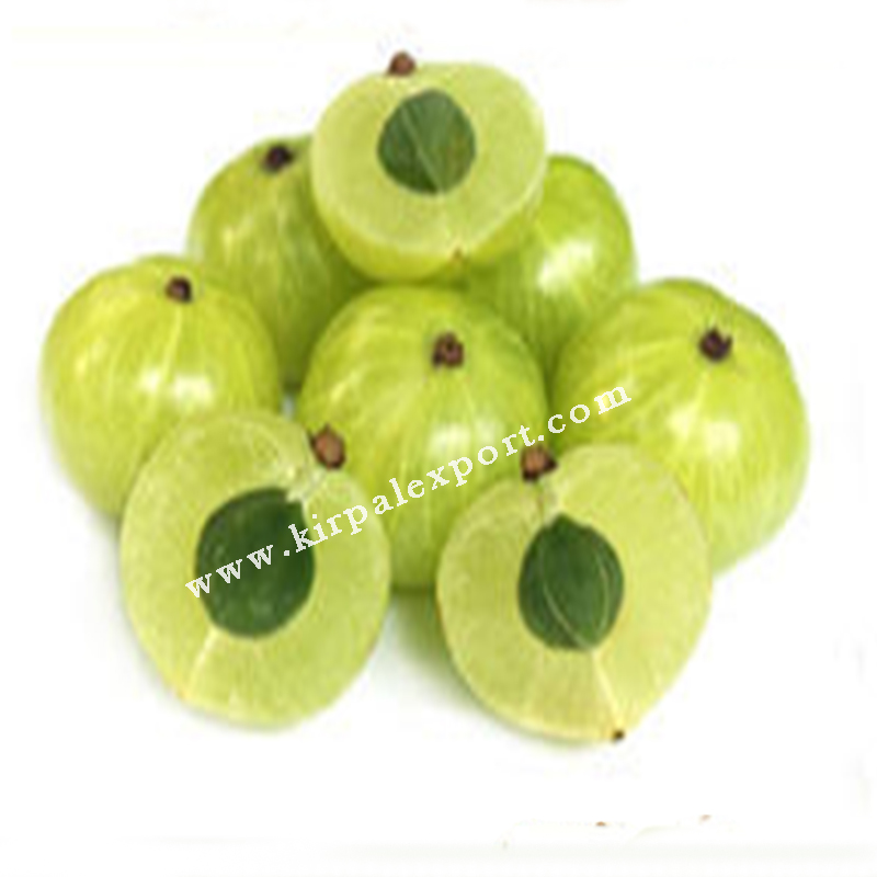 Manufacturer Exporter of Dried Natural Organic Amla for Hair Gooseberry Powder Supplier