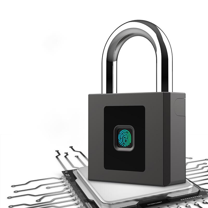 IP68 Tahan Air Sidik Jari Elektronik Secueity Keselamatan Gembok