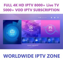 <span class=keywords><strong>أفضل</strong></span> 4K HD IPTV 8000 + لايف ال<span class=keywords><strong>تلفزيون</strong></span> 5000 + VOD IPTV الاشتراك