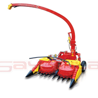 High Quality 3 Order Sequence Independent Free Grass and Corn Silage Harvester