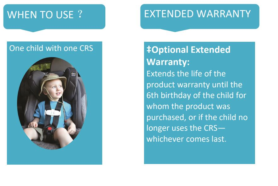 Baby alert car alarm reminder safety seat belt clip for baby kids Unattended be left in hot single value-pack ChildSeat Monitors