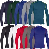 Winter Compression Jersey Base layers Thermal Under Top Shirts Skins Thermal snow tops Base layers