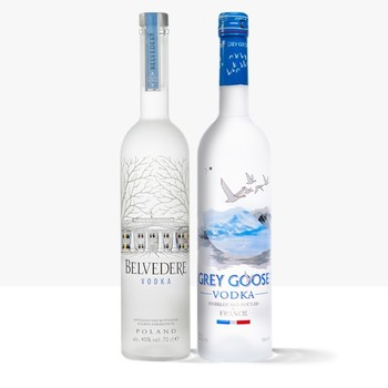 Affordable Vodka (Belvedere,Greygoose,Ciroc)
