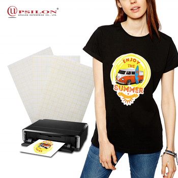 Inkjet A4 T Shirt Dark Heat Transfer Paper