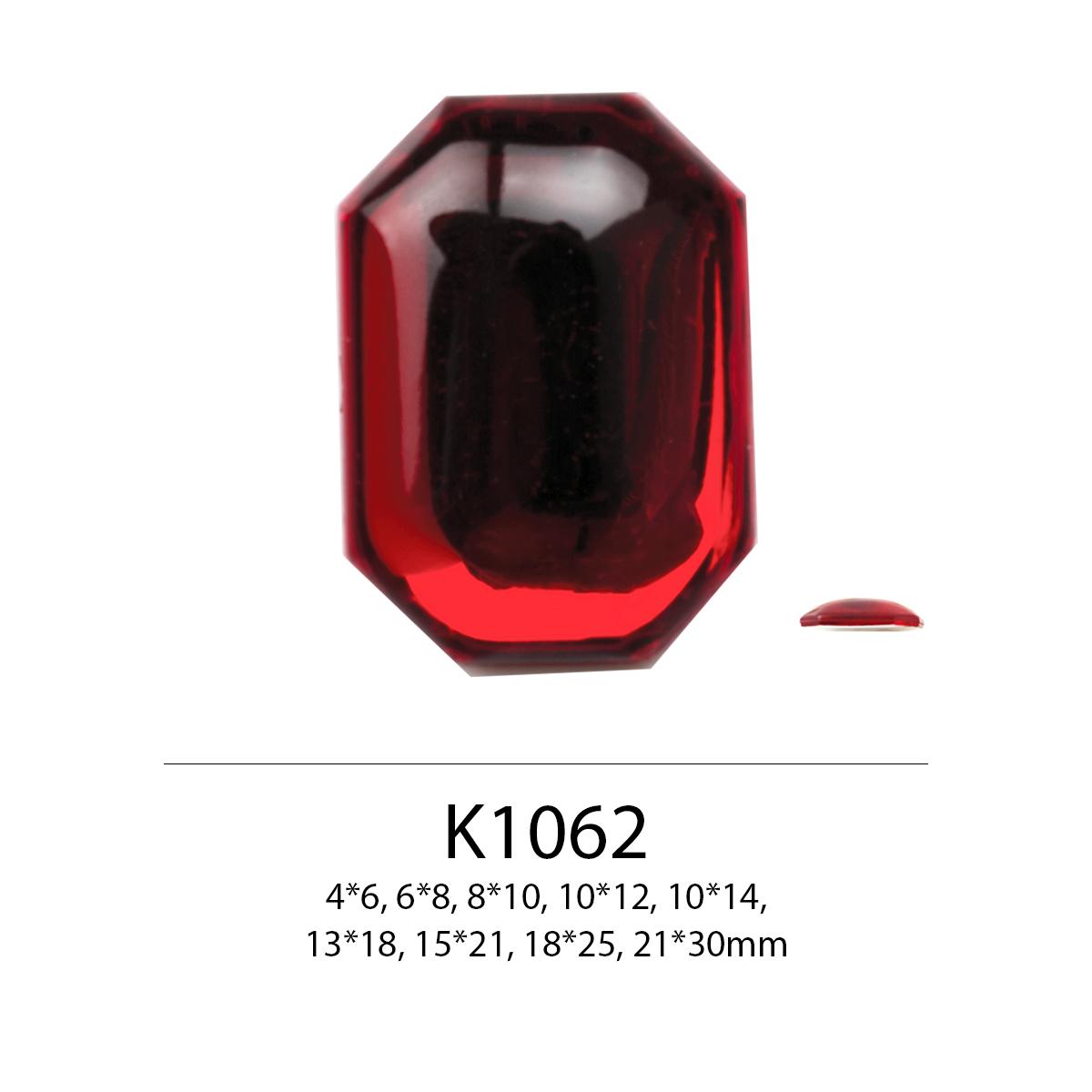 Massal Harga Octagon Bentuk Memeriksa Permukaan Ukuran Kecil Sampai Besar 13X18Mm 15X21Mm 18X25Mm 21X30Mm Flat Belakang Berlian Imitasi untuk Sepatu