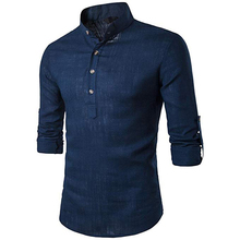 Klassische Männer Slim Fit Navy Blau Farbe <span class=keywords><strong>Oxford</strong></span> männer Kleid <span class=keywords><strong>Shirts</strong></span>