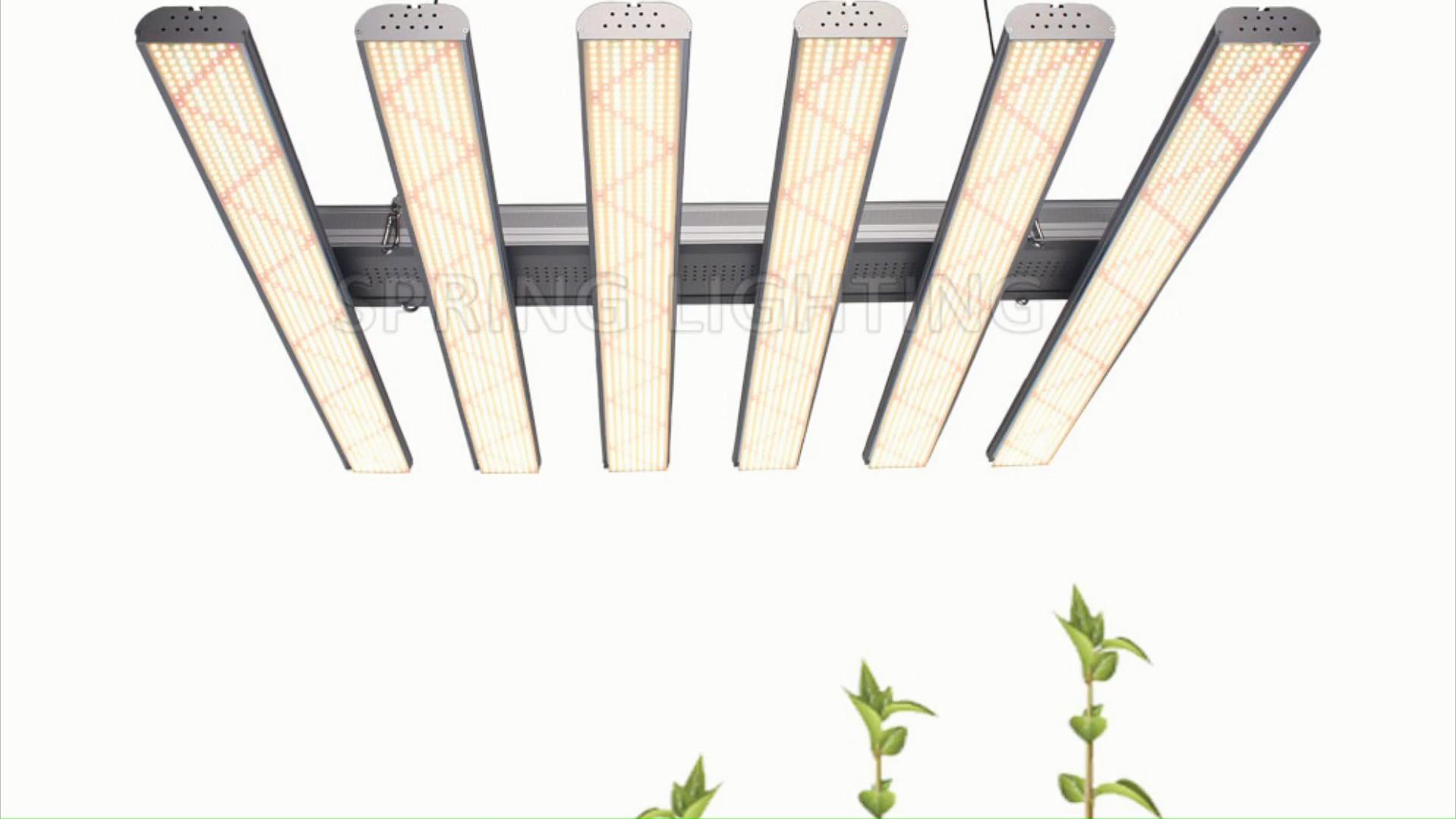 CE Rohs LED Grow Light Bars 480 Вт 600 Вт 720 Вт с регулируемой яркостью парниковый светильник для выращивания растений