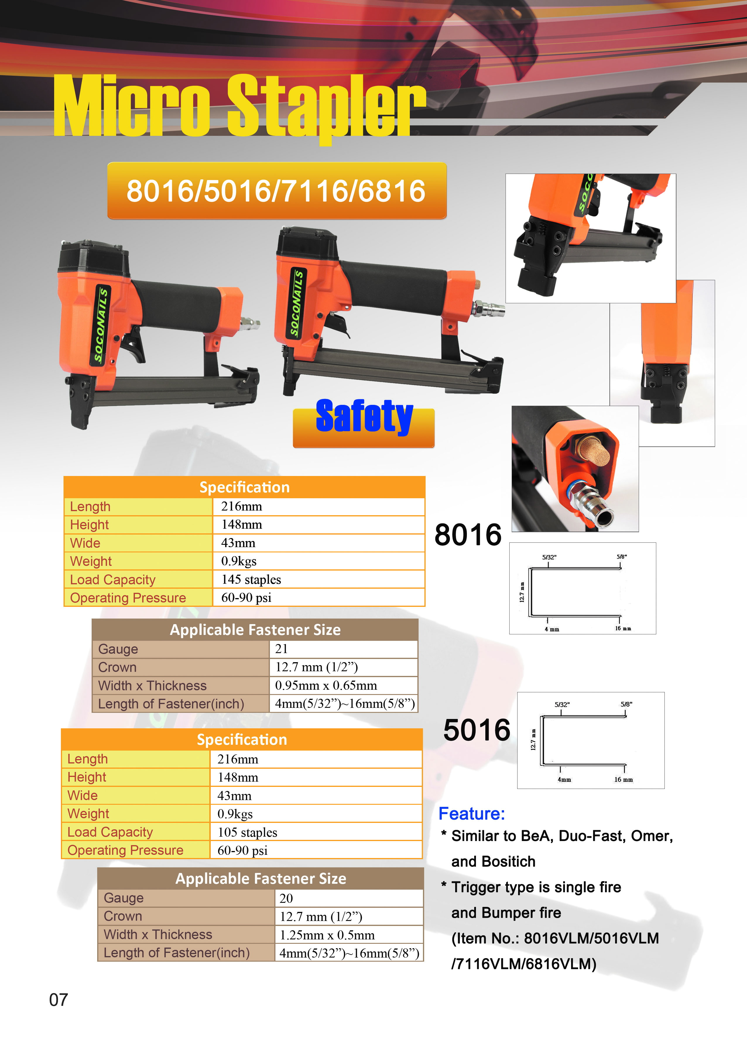 Safety Lycar Sarung Tangan