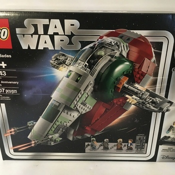 ORIGINAL Brand New Set 75243 Slave I 20th Anniversary - Edition (1007 Pieces)