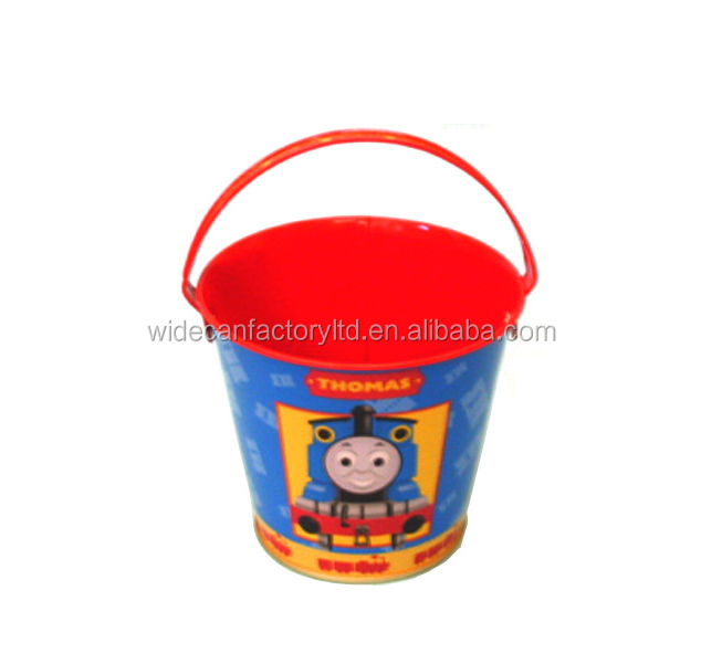 bucket metal tin ,food grade for toys/stationery