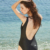 2019 new collection swimwear summer backless swimsuit sexy one piece bathing suit