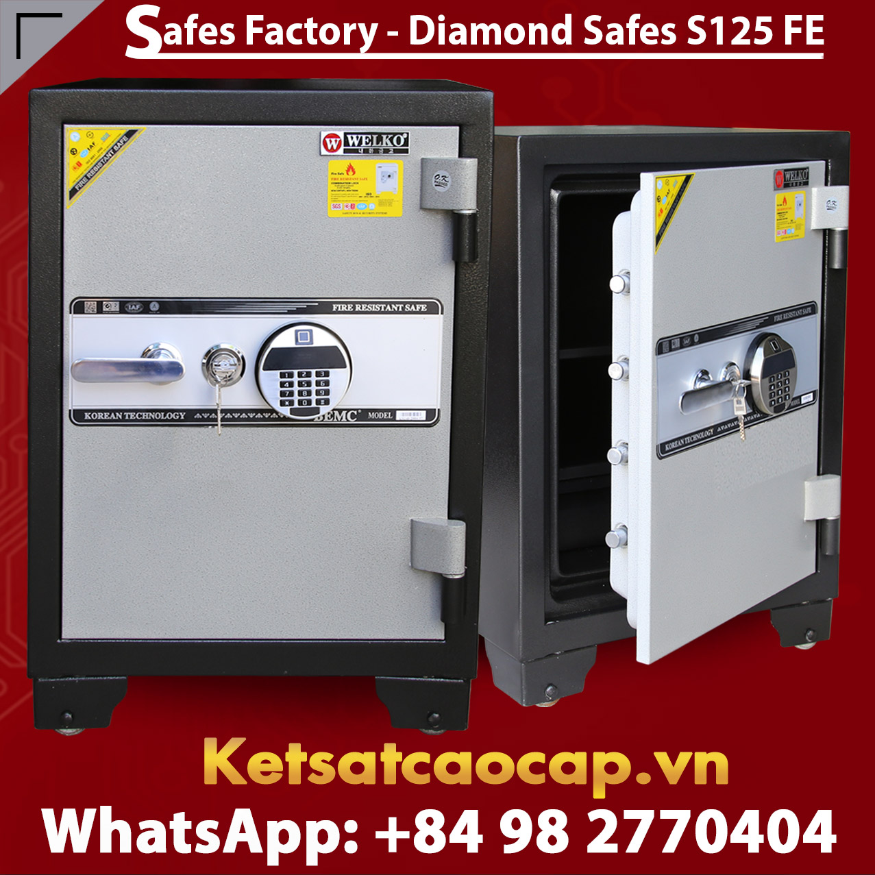 Diamond Safe KS125 FE Black