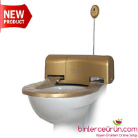 BNG Cleanturn automatic hygienic toilet seat system