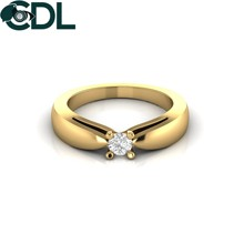 Diamant Solitaire Ring Für Frauen 14Kt Gold 6,24 Gramm Engagement Ring/Diamant Ringe