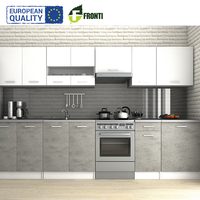 Kitchen set 320 cm LUIZA III POLAND EU quality cuisine cabinets furniture mat sonoma color optional