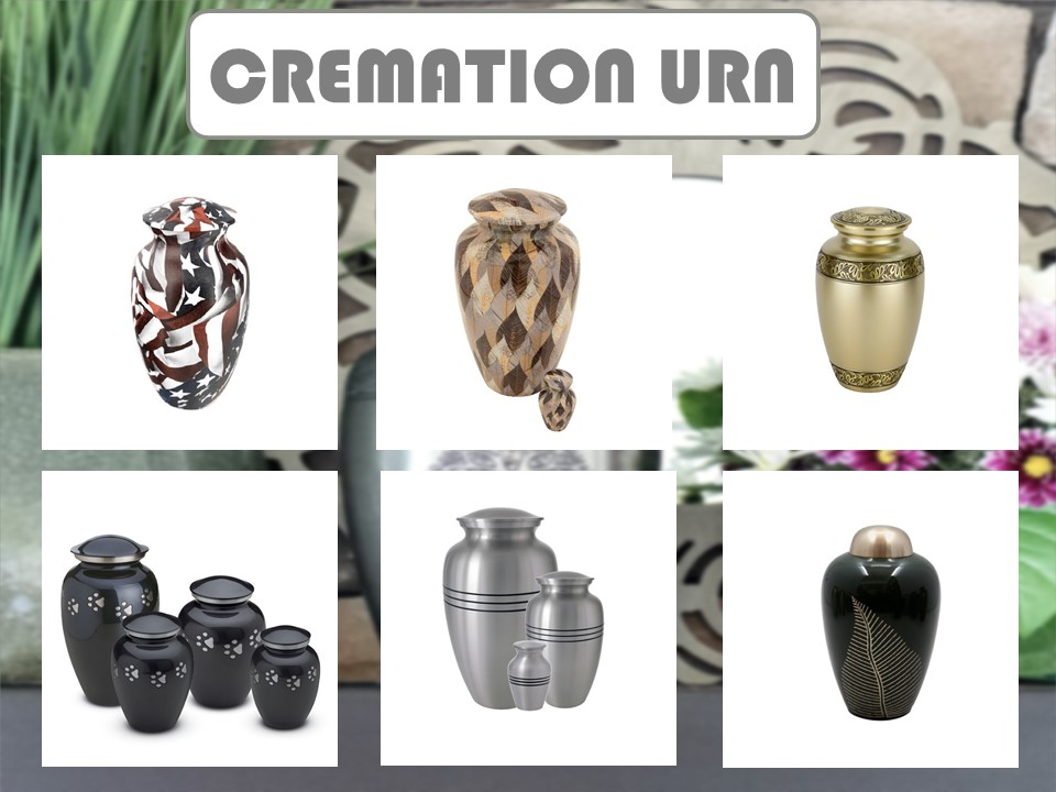 Cremation Pet urn Funeral Supplies Cremation Wholesale Adult Cremation White Funeral Urns Metal Brass Casket