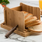 NB 100% natural bamboo bread tray