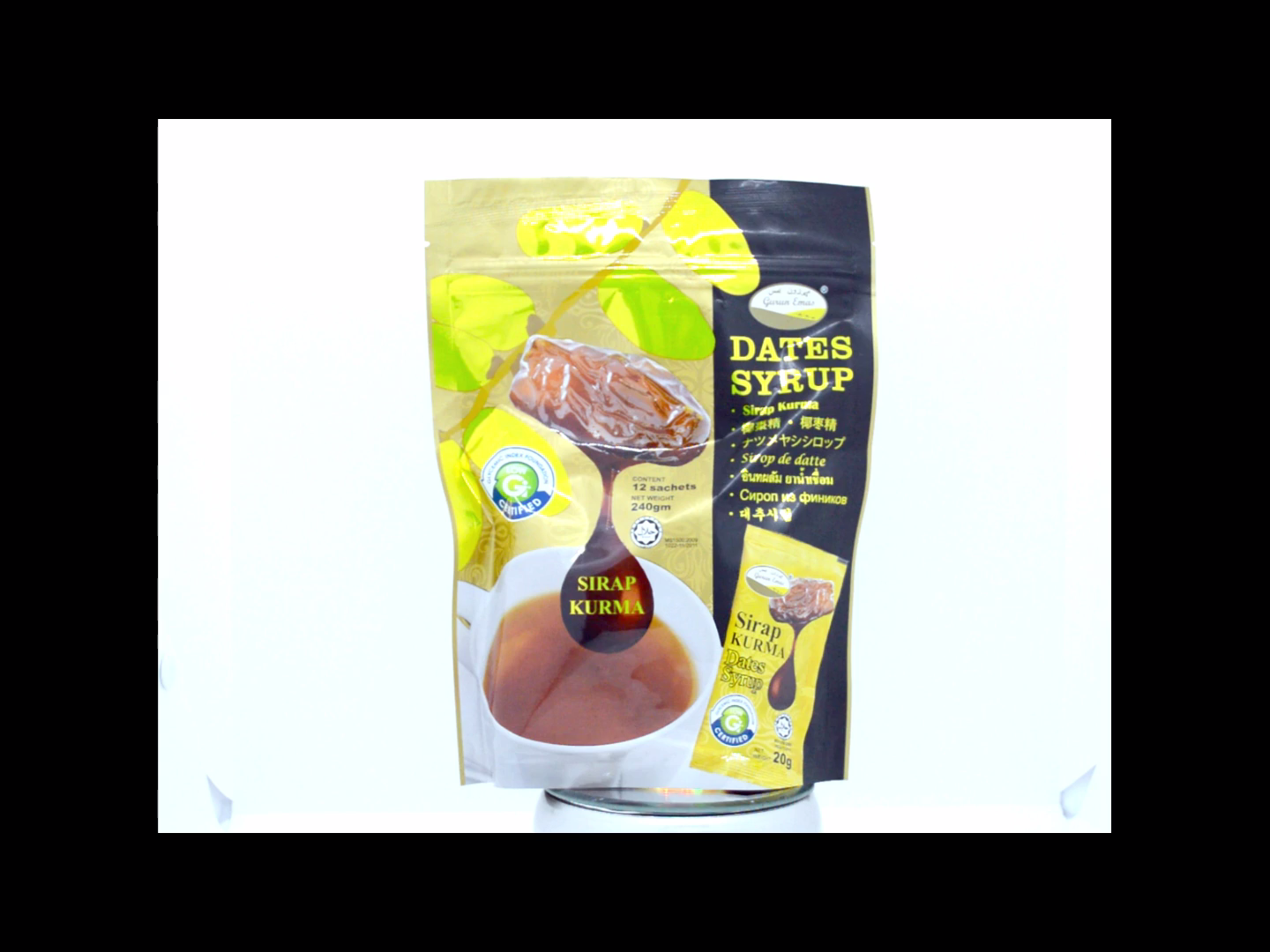 Healthy Date Fruit Extract High Antioxidant Date Syrup for Drink