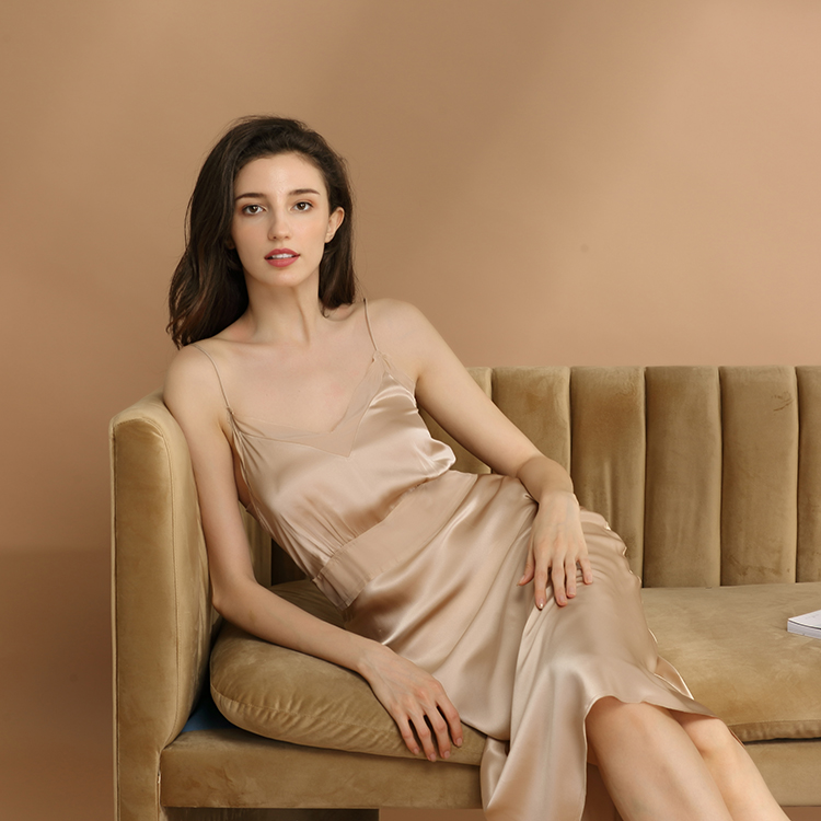 2021 New Fashion 100 Silk Sleepwear Satin Slip Sexy Night Wear For Women Luxury Silk Pajamas Buy Night Wear Luxury Silk Pajamas Sleepwear Product On Alibaba Com