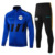 Homme Maillot De Football Adulte De Football Ensemble De Vêtements Vestes de Course Sport À Manches Longues Veste D'entraînement de Football Uniformes