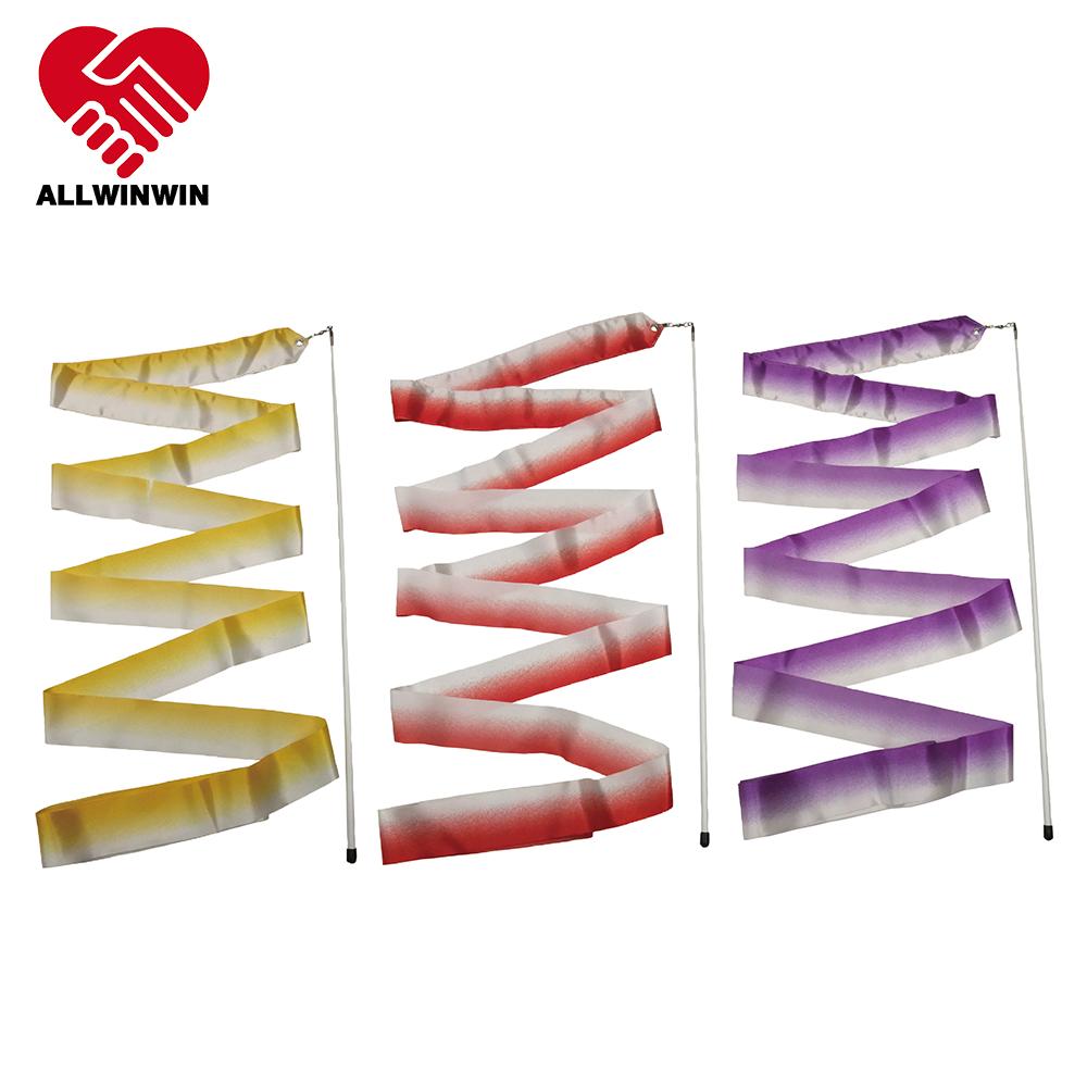 Allwinwin Rgr11 Rhythmic Gymnastics Ribbon - Bicolor 4/5