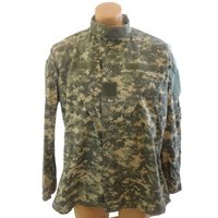 Jacket for Men Camo Printed Rip Stop / PC Jeans Mens Camo Jackets Military Tactical Uniform