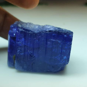 100% natural Tanzanite rough pieces for cut,beads and fancy item (196CTS)(135.65CTS)( GRADE 1)-LOT OF 2 PIECES