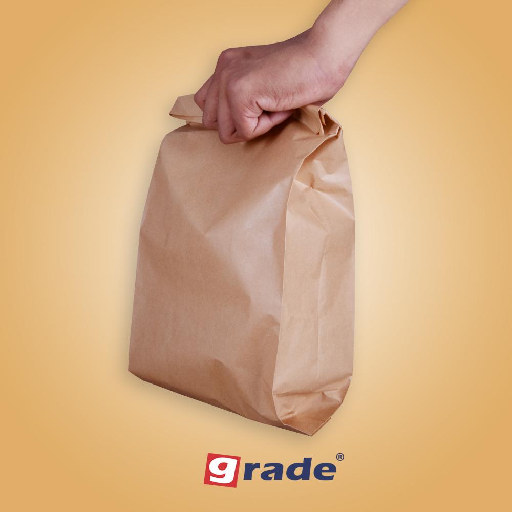 GRADE V-Bottom Paperbag