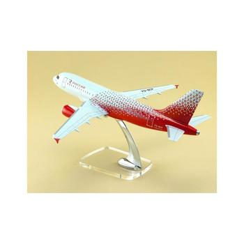 Airbus 319 Aircraft model plastic plane model scale 1/100 34cm, Russian production