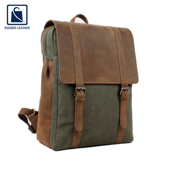 Hot Selling Premium Quality Genuine Leather Unisex Rucksack Backpack Supplier